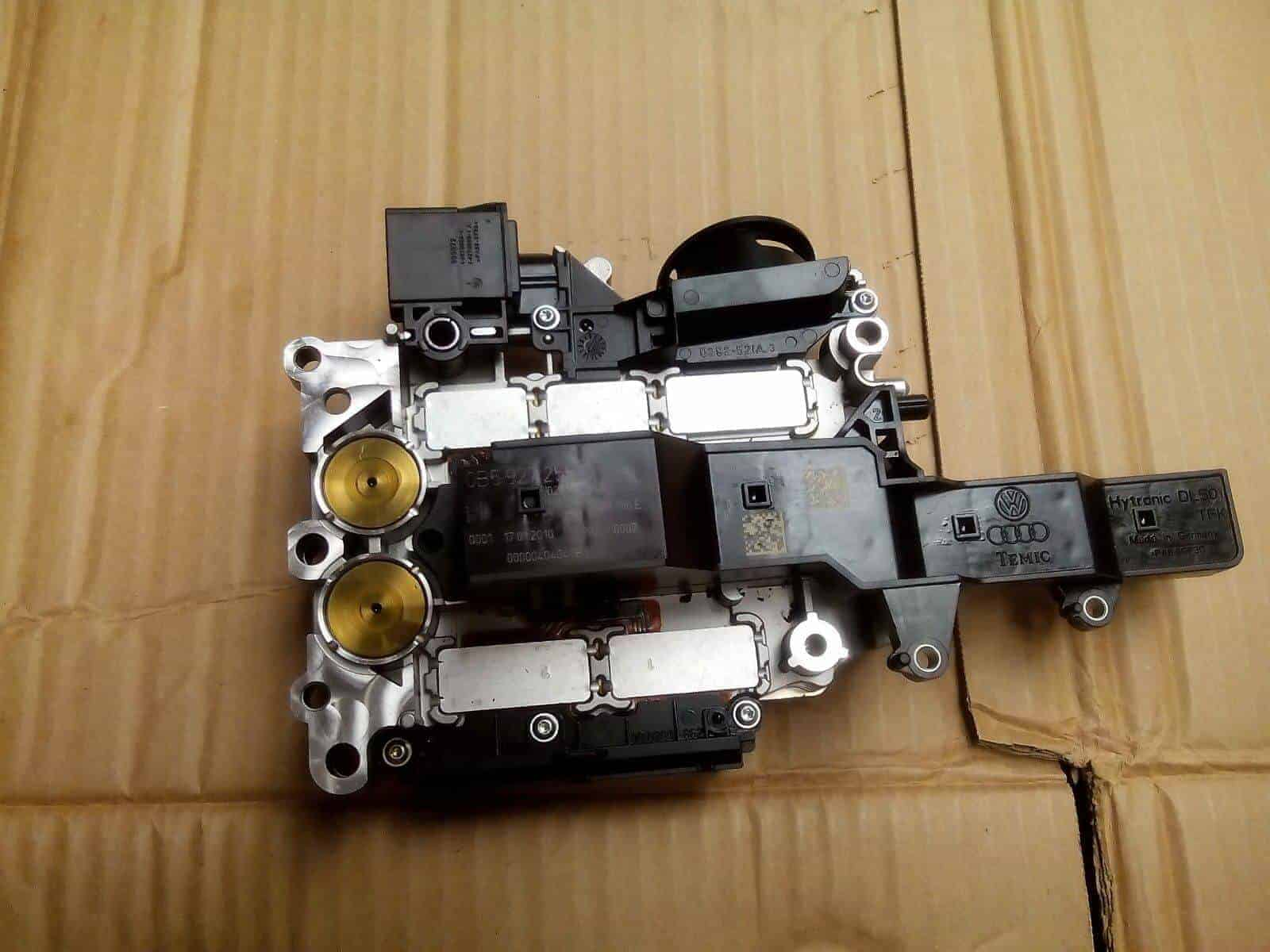 0B5927156E 0B5 DL501 TCU TCM 7 Speed WD Clutch Automatic Transmission  Control Unit For Audi A4